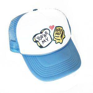 Accessories - YOU'RE MY BUTTER HALF Austin TX Mural Trucker Hat